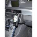Lederkonsole für Volvo XC70/V70/S80 ab 09/2011 Kunstleder schwarz