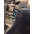 Kuda Lederkonsole für VW Golf 7 ab 11/2012 Echtleder schwarz