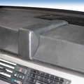 Kuda Navigationskonsole für BMW 3er (E90) ab 03/05 (o. i-Drive) Kunstleder