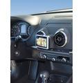Kuda Navigationskonsole für Navi Audi A3 ab 09/2012 Echtleder schwarz