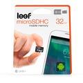 Leef microSD Karte 32 GB UHS-1 mit Adapter for Universal schwarz
