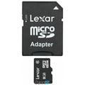 Lexar microSDHC - 8GB - inkl. SD-Adapter - Class 10