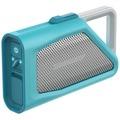 Lifeproof AQUAPHONICS AQ9 - Lautsprecher - tragbar - drahtlos - Bluetooth - Clear Water Teal