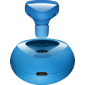 Nokia Bluetooth Headset Luna BH-220W (Wireless Charging), cyan