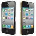 Ozaki iCoat BlingBling Sticker f�r iPhone 4S, gold&black