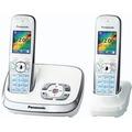Panasonic KX-TG8522GW, weiß Duo