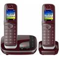 Panasonic KX-TGJ322GR, dunkel-rot