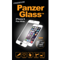 PanzerGlass Displayschutz PREMIUM für iPhone 6 Plus / 6s Plus white 3D Touch