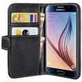 Pedea BookCover für Samsung Galaxy S6, schwarz