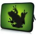 Design Schutzhülle 15,6 Zoll green frog