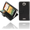 Twins Premium BookFlip f�r HTC One X / XL, schwarz