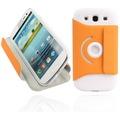 Twins Folio Stand 360 für Samsung Galaxy S3, orange
