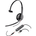 Plantronics Headset Blackwire USB C315.1 monaural (UC)