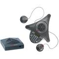 Polycom SoundStation 2W EX mit 2 Zusatzmikrofonen
