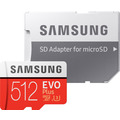 Samsung Micro SD Karte EVO Plus (2020) 512GB