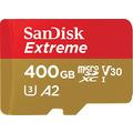 Sandisk Extreme microSDXC 400GB A2 U3 V30