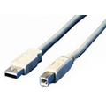HDK USB 2.0 Anschlusskabel 3m Stecker Typ A auf Stecker Typ B