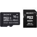 Sony SRUYA microSDHC 16GB Class 10 (inkl SD Adapter)