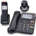 Switel Crystal DCT64072 CPl, schnurloses DECT-Telefon, schwarz