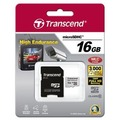 Transcend 16GB mircoSDHC, Class 10, Video Recording