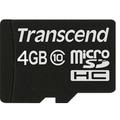 Transcend Ultimate Speed microSDHC 4GB Class 10