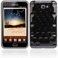 Twins Bright Bubbles für Samsung Galaxy Note, schwarz