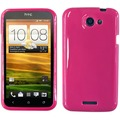 Twins Bright Grip für HTC One X, pink