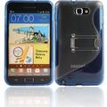 Twins Convenience für Samsung Galaxy Note, blau
