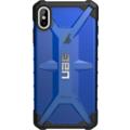Urban Armor Gear Plasma Case, Apple iPhone XS Max, cobalt (blau transparent)