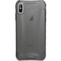 Urban Armor Gear Plyo Case, Apple iPhone XS Max, ash (grau transparent)