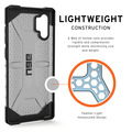 Urban Armor Gear UAG Urban Armor Gear Plasma Case, Samsung Galaxy Note 10+, ash (grau transparent), 211753113131