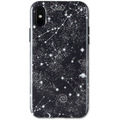 Wilma Midnight Shine Gazing Stars for iPhone X/Xs black