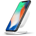 ZENS Ultra Fast Wireless Charger Stand 10W Qi weiß