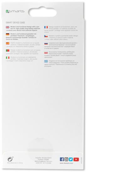 4smarts Clip-On Cover Trendline Carbon für Samsung Galaxy Note8 schwarz -