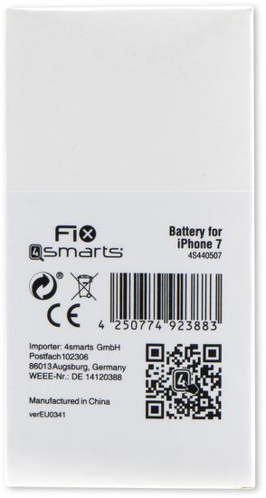 4smarts FIX4smarts Akku für Apple iPhone 7 -