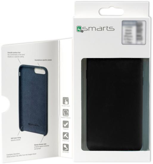 4smarts Liquid Silikon Case CUPERTINO für Huawei P30 Pro schwarz -