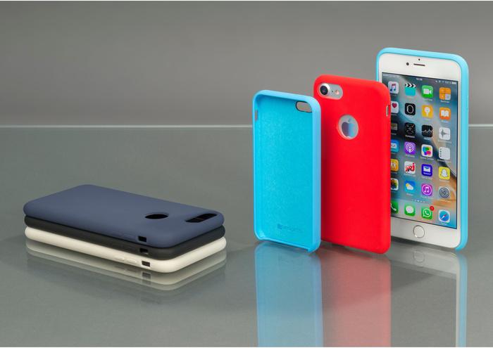 4smarts Liquid Silikon Case CUPERTINO ICE für Apple iPhone Xs Max -