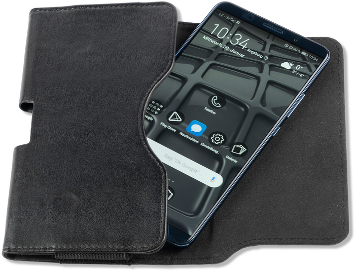 4smarts Universal Gürtel-Tasche URBAN Unibelt Größe L all-black -