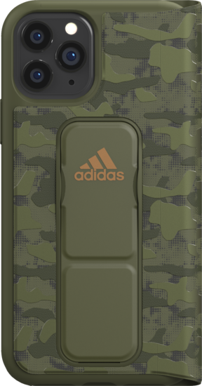 adidas SP Folio Grip Case Camo FW19 for iPhone 11 Pro tech olive -