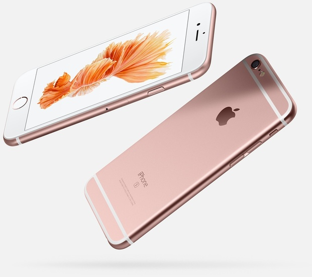 Apple iPhone 6s, 128GB, roségold -