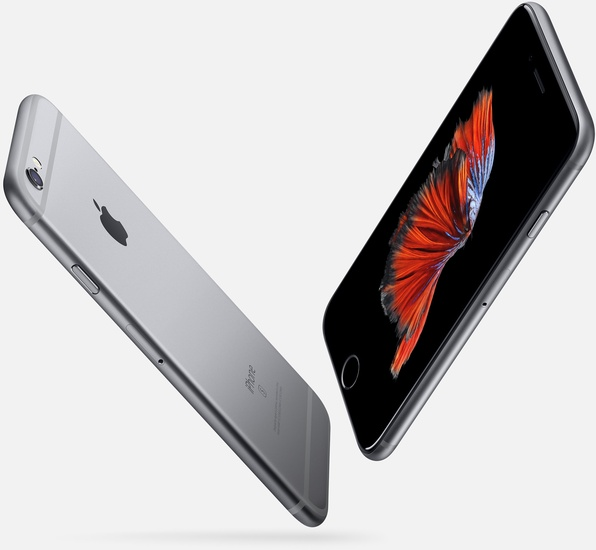 Apple iPhone 6S, 32GB, space grey -