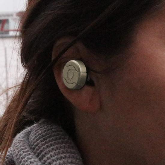 Baseus Bluetooth Headset + Kfz Ladegerät - Gold -