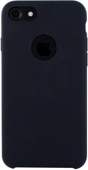 Cyoo Premium Liquid Silicon Hard Cover für iPhone 7 / 8, Schwarz