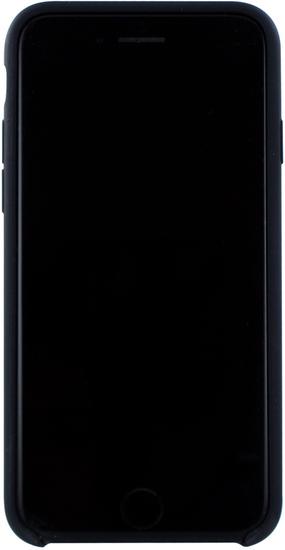Cyoo Premium Liquid Silicon Hard Cover für iPhone 7 / 8, Schwarz -
