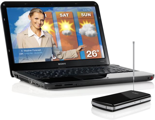 Elgato tivizen mobiler DVB-T Empf�nger - WLAN Nutzung mit Laptop