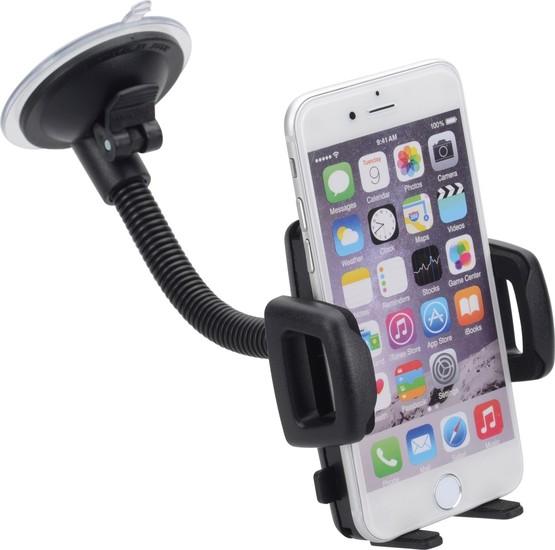 HR Auto-Comfort Schwanenhals-Smartphonehalter mit Saugnapf Universal (56 - 85 mm) -