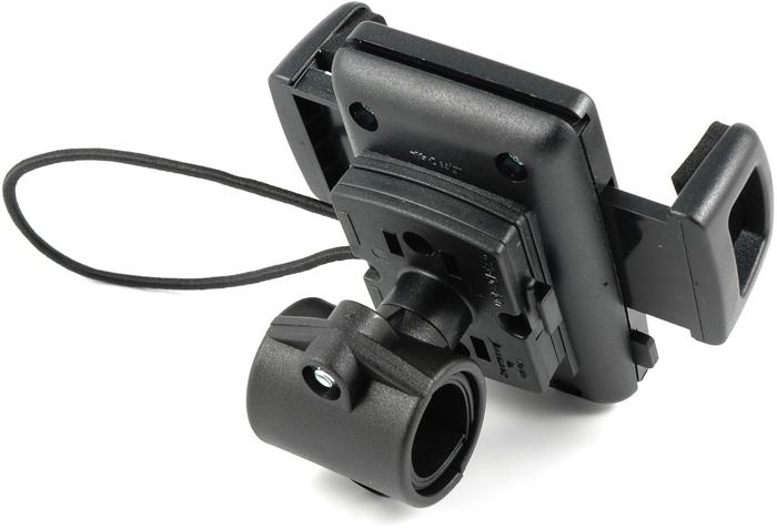 HR Auto-Comfort Smartphone-Halter Fahrradset - Rückseite mit Schlaufenhalter