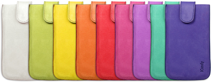 iCandy Fun Leather Bag XXL, orange - Fun Leather Farbpalette