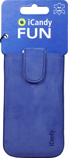 iCandy Fun Leather Bag XL, blue -