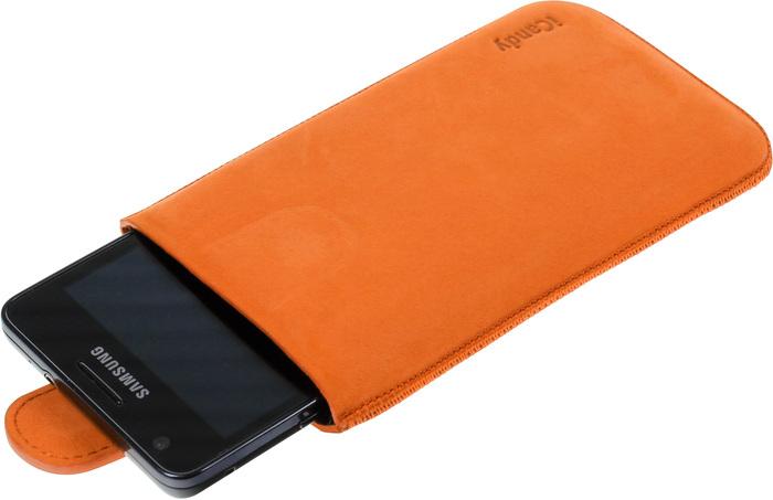 iCandy Fun Leather Bag XXL, orange -